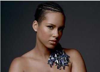 BuzzCanada: Pregnant Alicia Keys Poses Nude For We Are