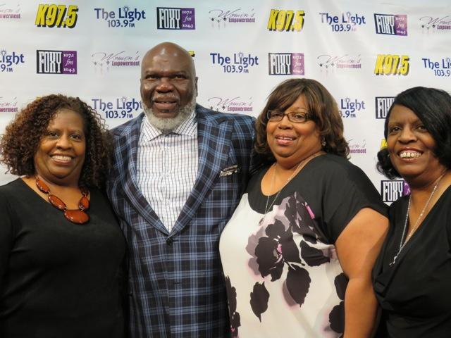 Bishop T.D. Jakes Meet and Greet at Women's Empowerment