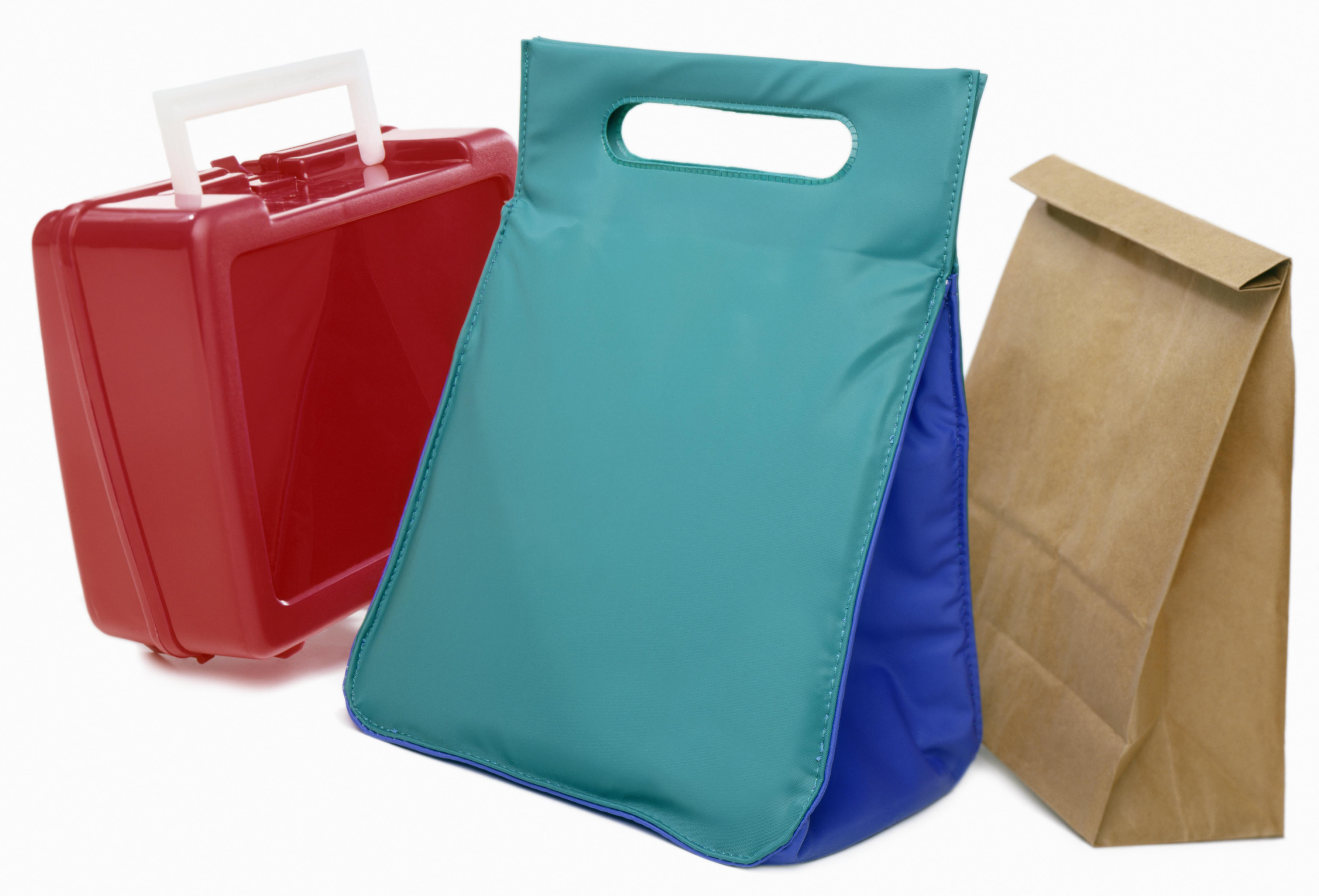 Various types of lunch containers