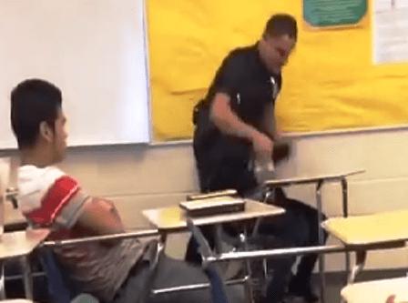 Spring Valley High School Officer Fired