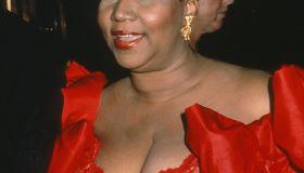 Aretha Franklin...