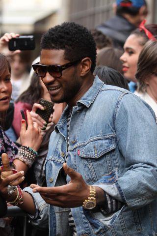 Celebrity Sightings In London - March 22, 2012
