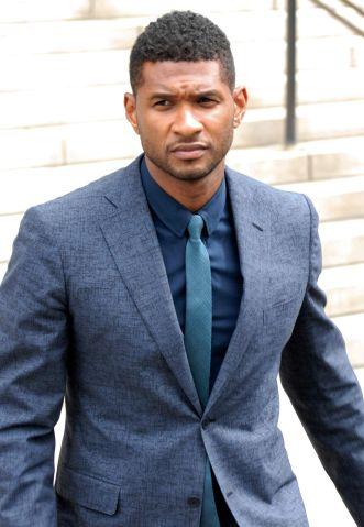 Usher Raymond & Tameka Foster Custody Hearing - August 15, 2012