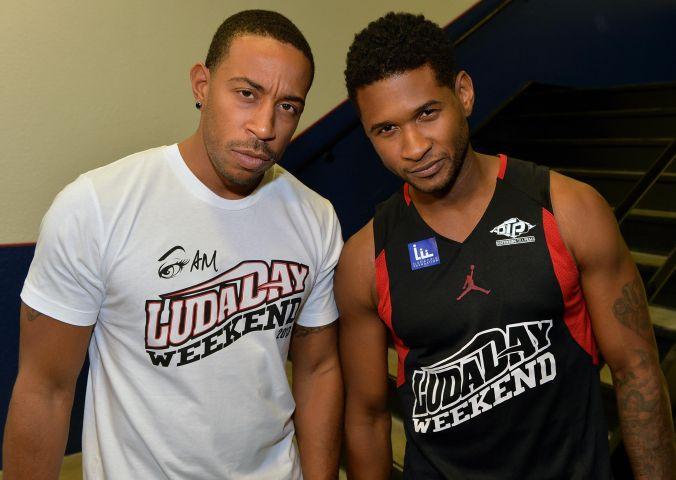 Neuro Drinks At LudaDay Weekend Celebrity Basketball Game
