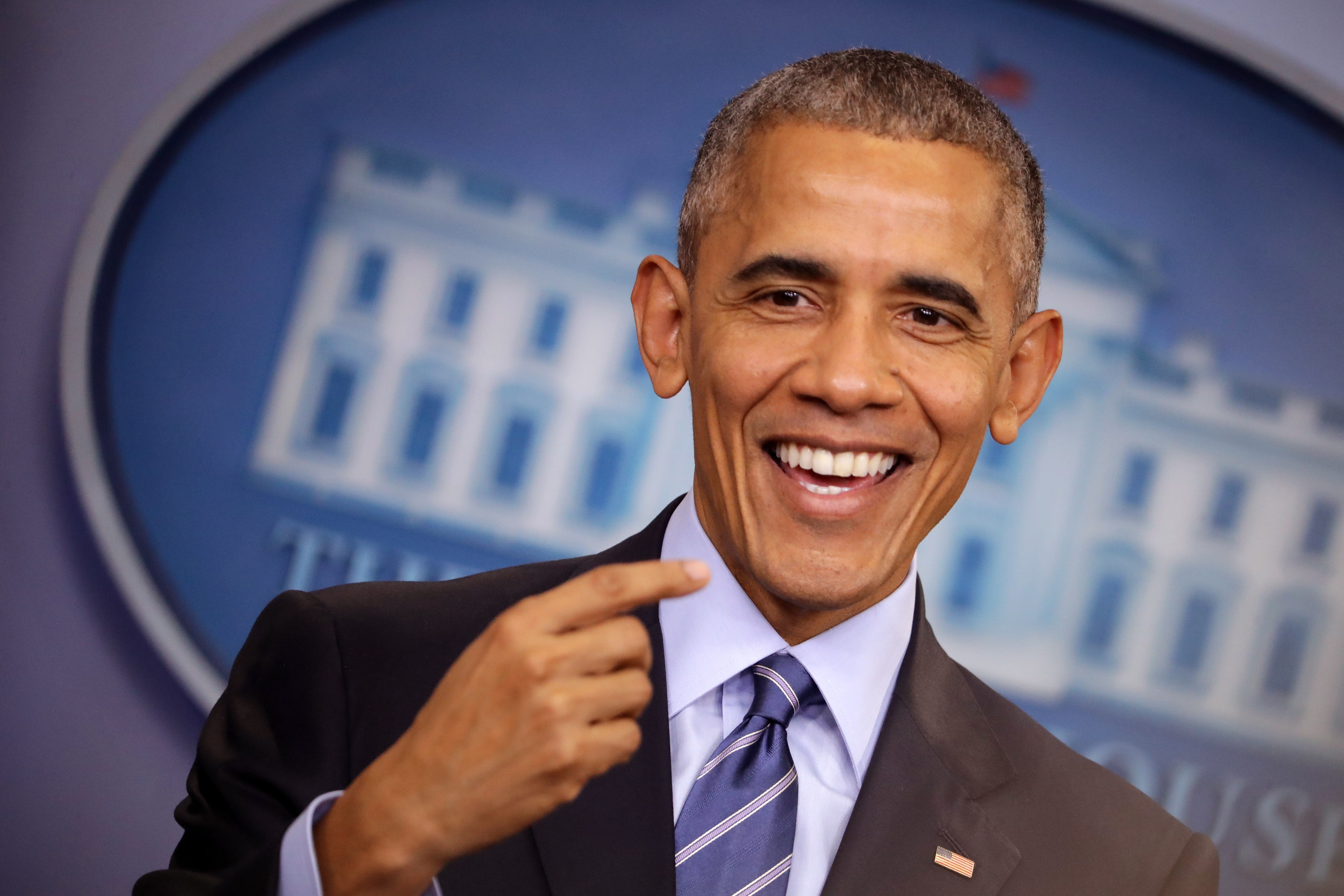 President Obama Holds Year-End Press Conference At The White House