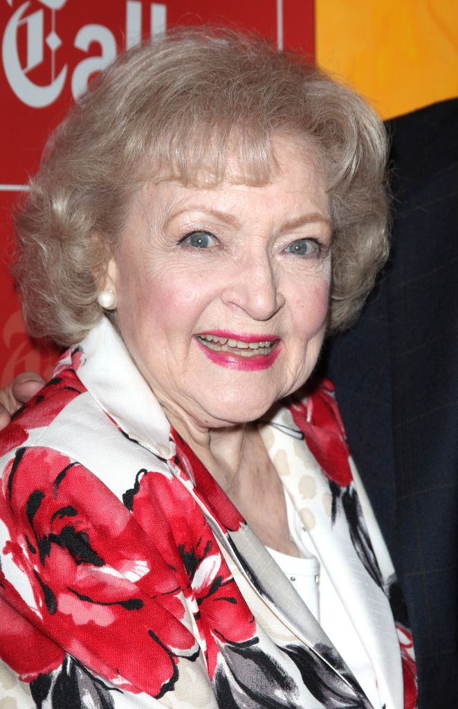 USA - Times Talks - Betty White and Michael Stipe in New York City