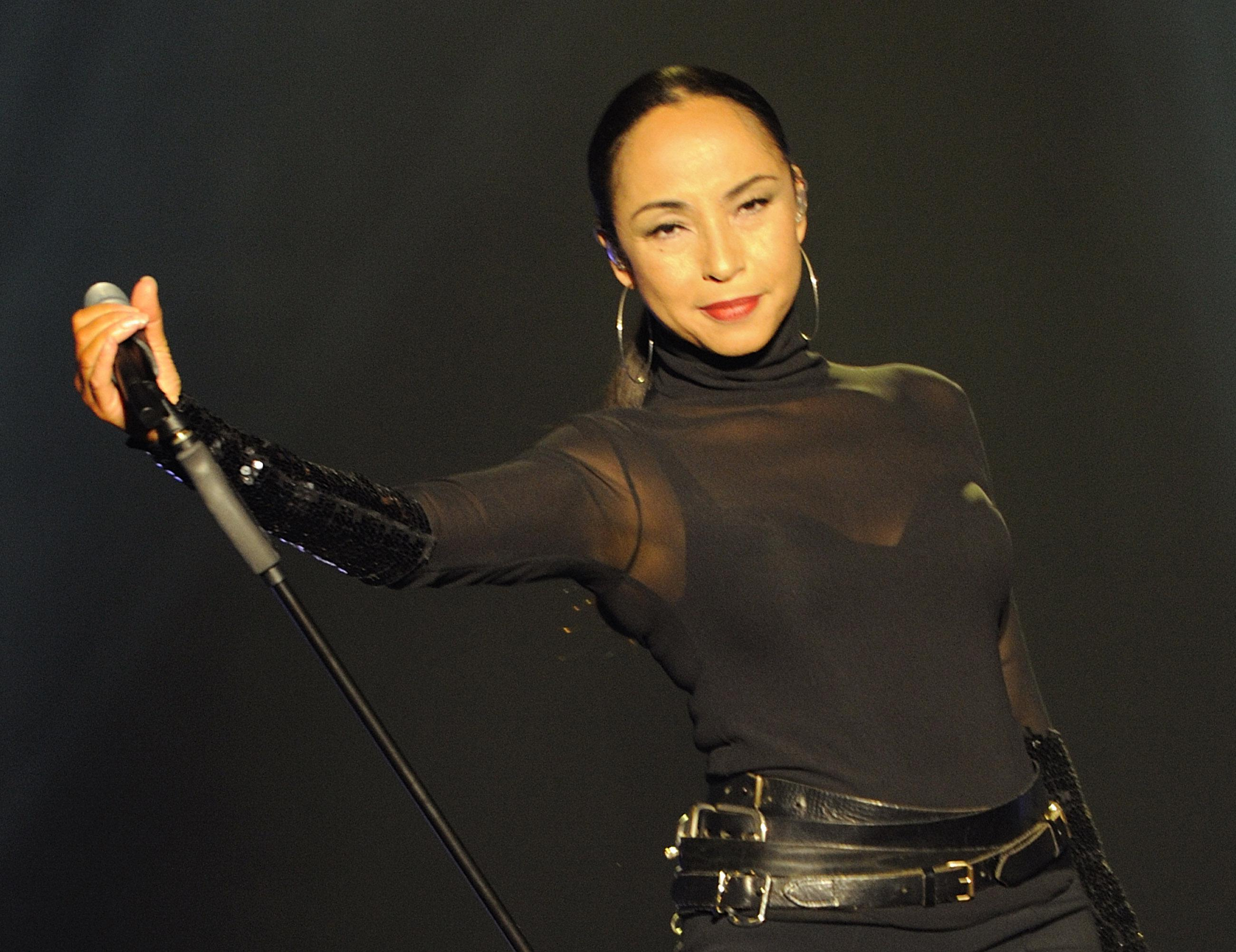 Sade Performs At The O2 Arena In London