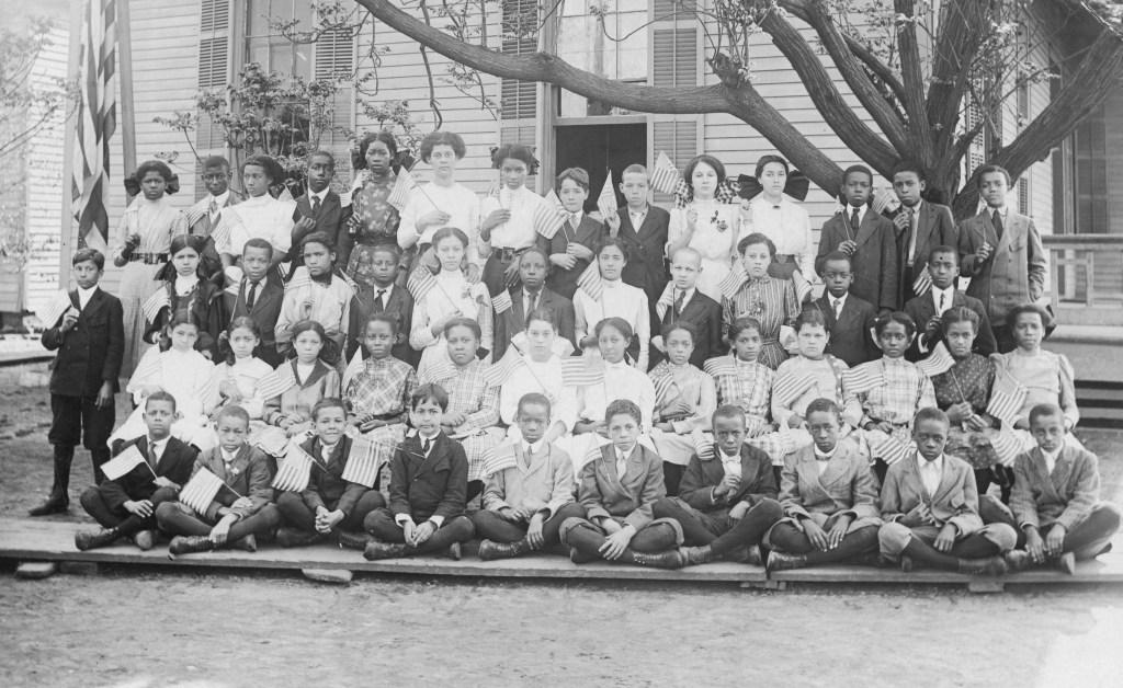 Black Wall Street - African American Schoolchildren