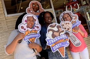 Free scoops of ice cream at all Ben & Jerry's Stores nationwide in Denver, Colorado.