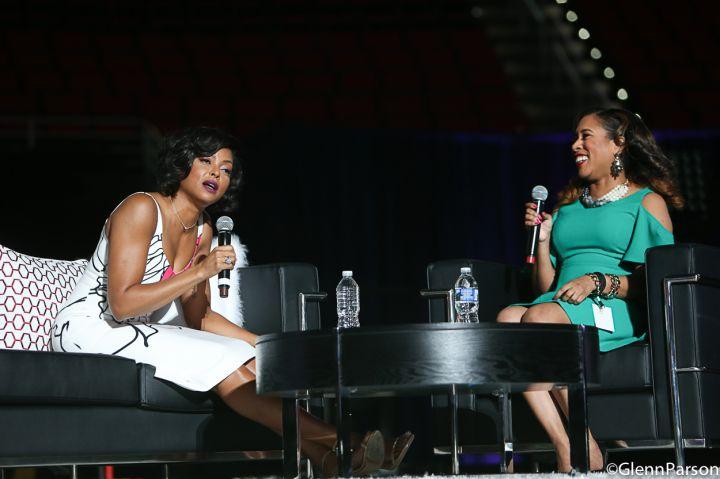 WE 2017: Taraji P. Henson Shines On Stage [PHOTOS]