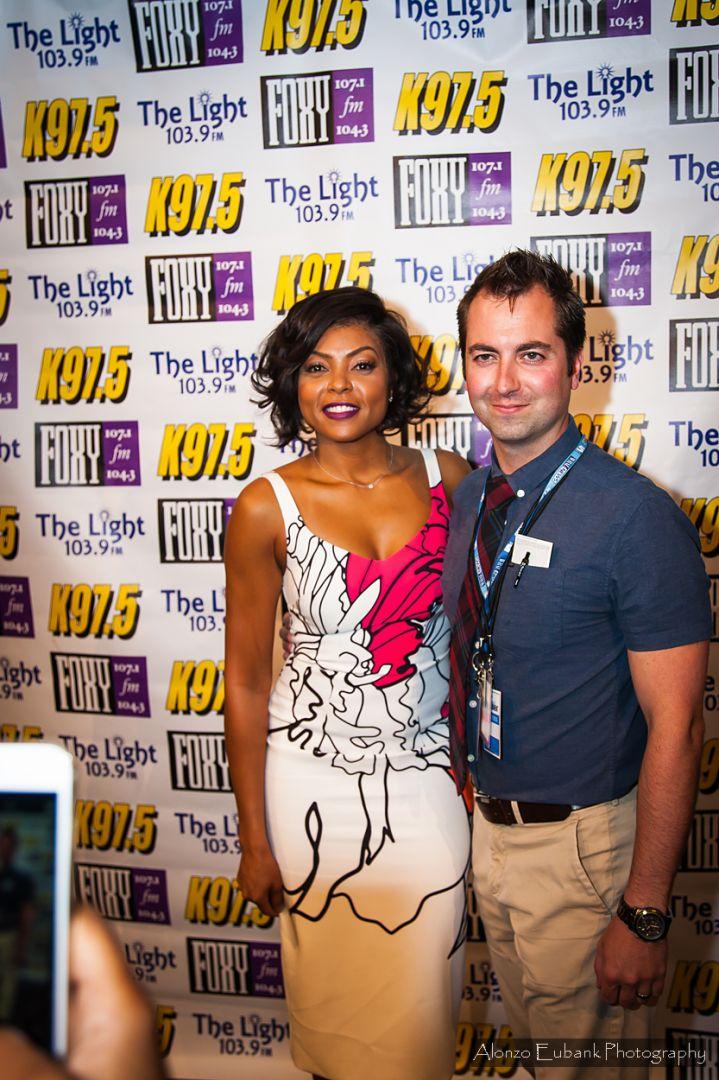 WE 2017: Taraji P. Henson Meet & Greet [PHOTOS]