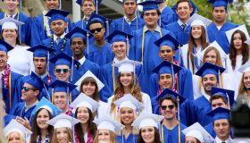 USA: Education: High School Graduation Ceremony