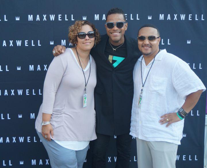 Maxwell, Ledisi, & Leela James Meet & Greet