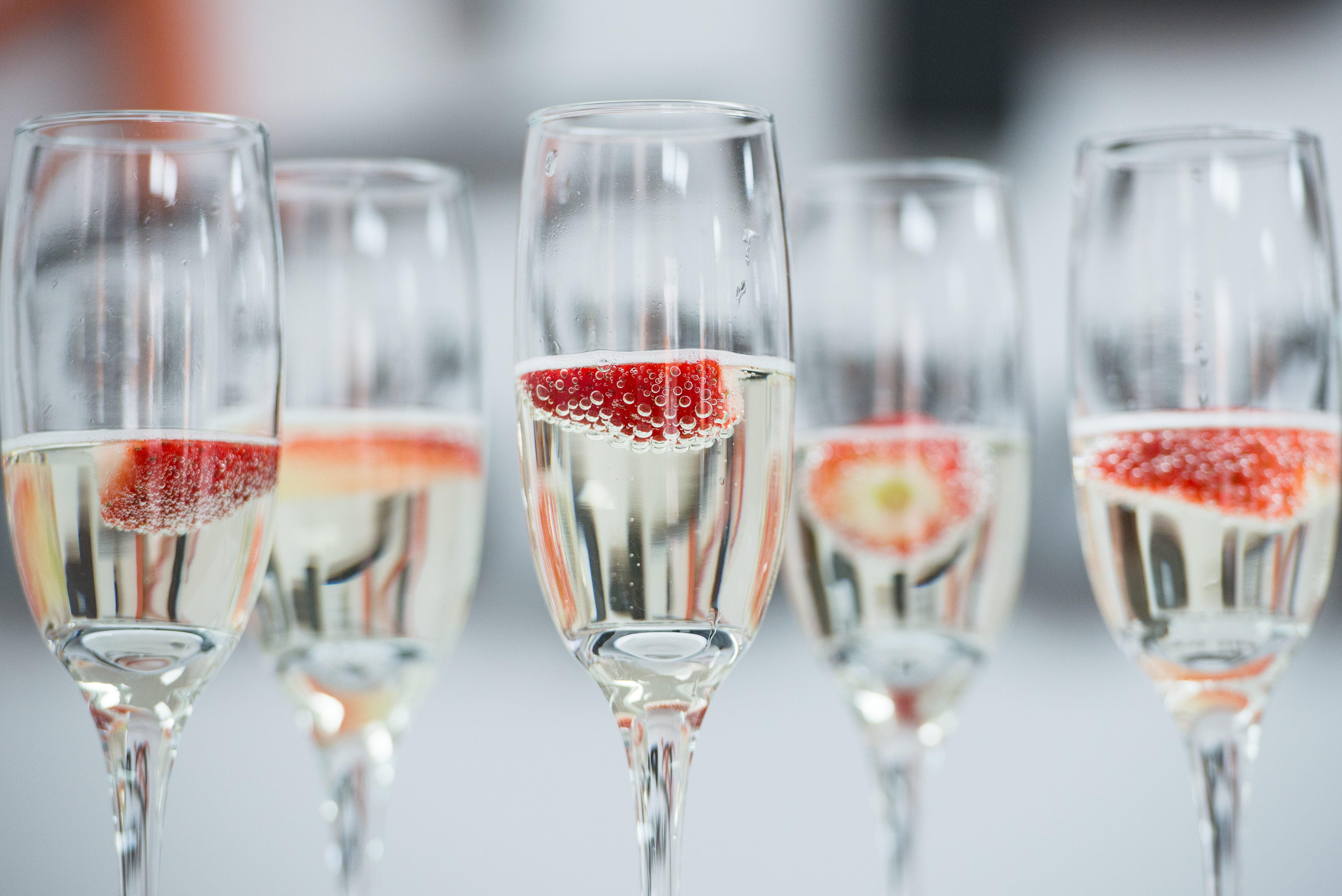 Close-Up Of Wine In Glasses