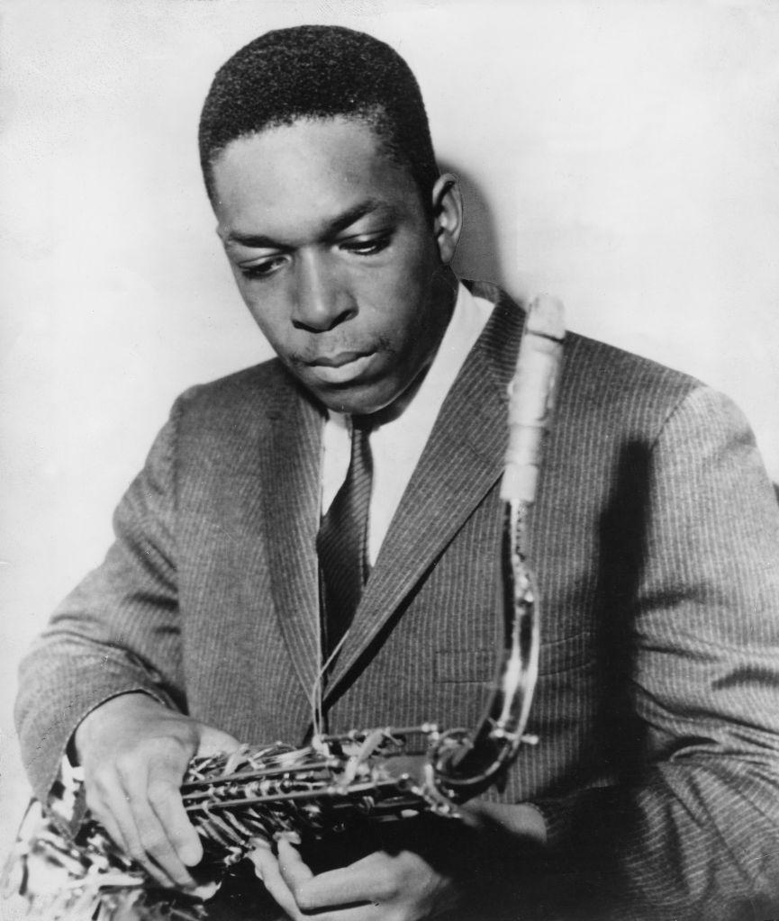 John Coltrane John Coltrane (*23.09.1926-17.07.1967+) Jazz musician, USA - p