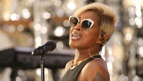 Mary J. Blige Performs On NBC's 'Today'