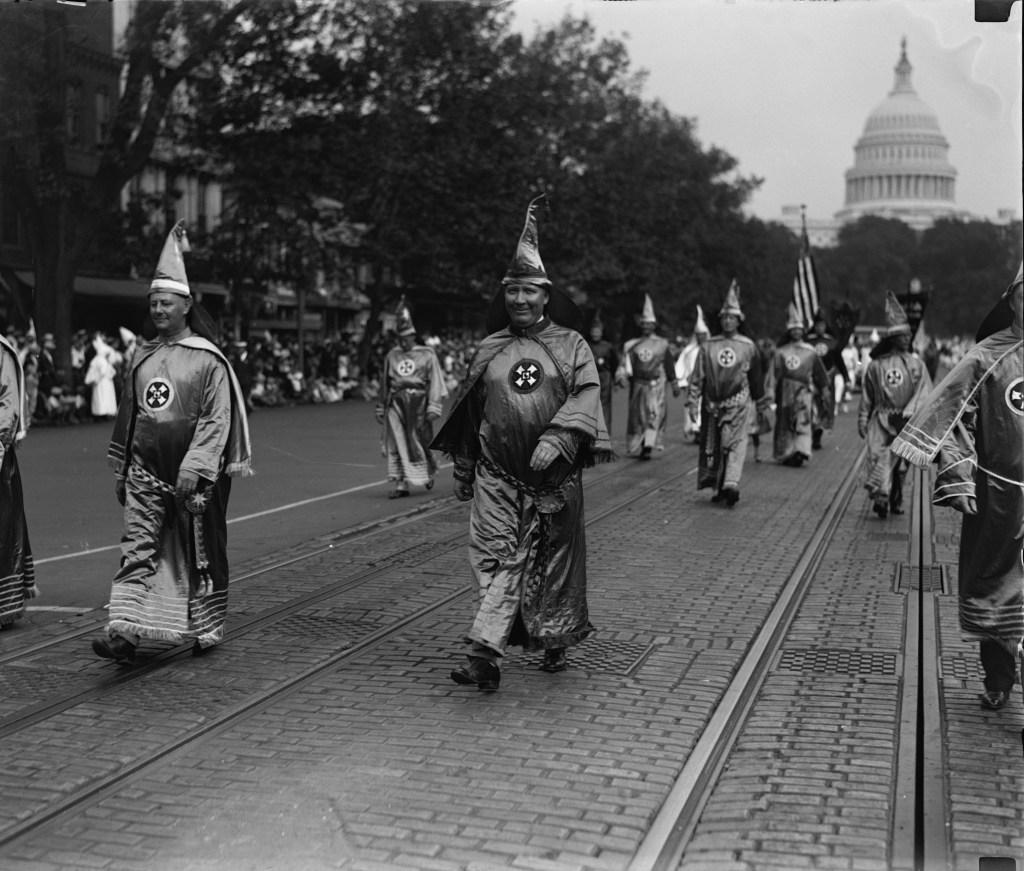 Ku Klux Klan March in Washington D.C.