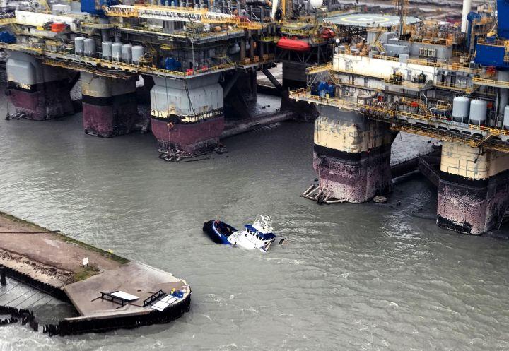 Destruction And Flooding After Hurricane Harvey Slams Into Texas Gulf Coast