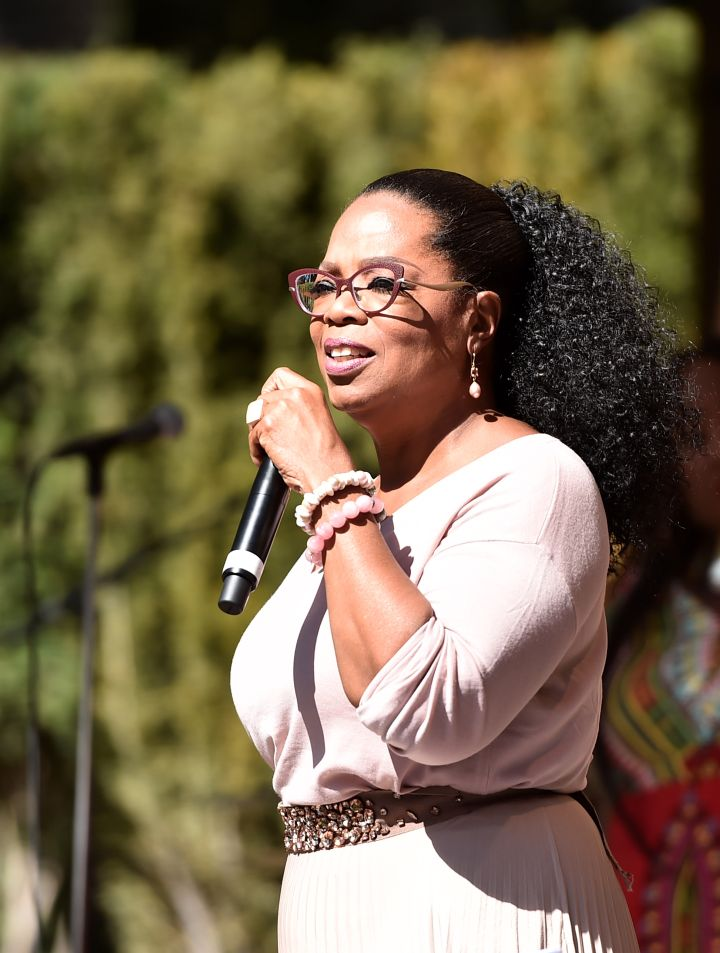 Oprah Winfrey's Gospel Brunch Celebrating Her New Book 'Wisdom Of Sundays'