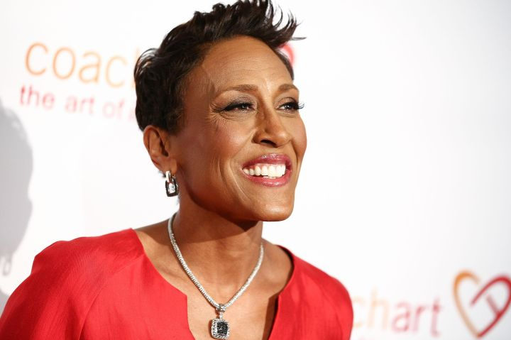 Robin Roberts -Diagnosed with breast cancer in 2007