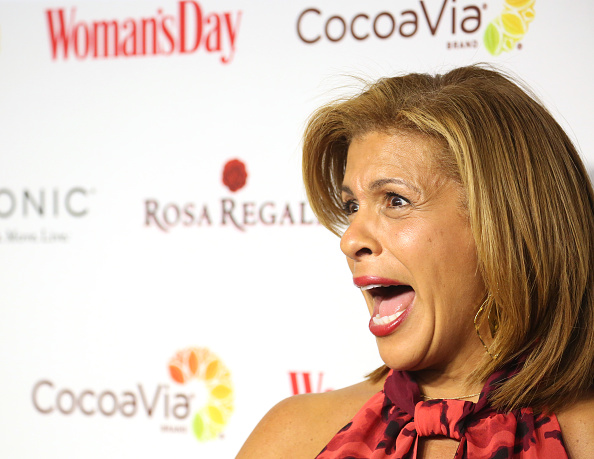 Hoda Kotb- Diagnosed with breast cancer in 2010