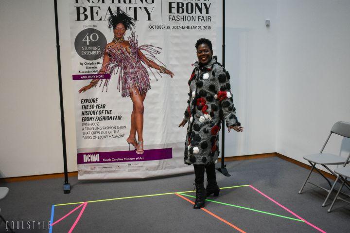 Ebony Fashion Fair Remote at the North Carolina Museum of Art