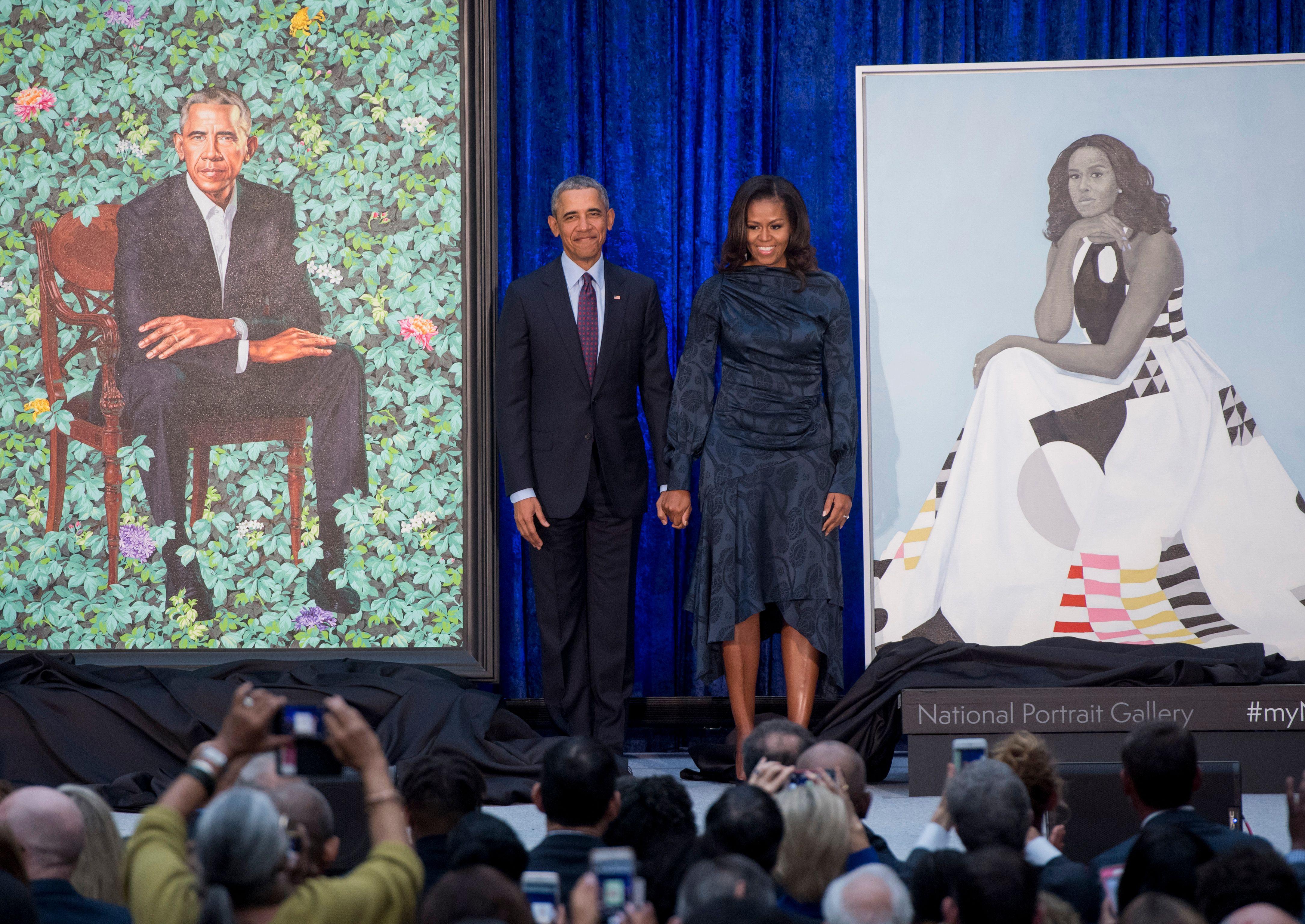 US-POLITICS-ART-HERITAGE-OBAMA