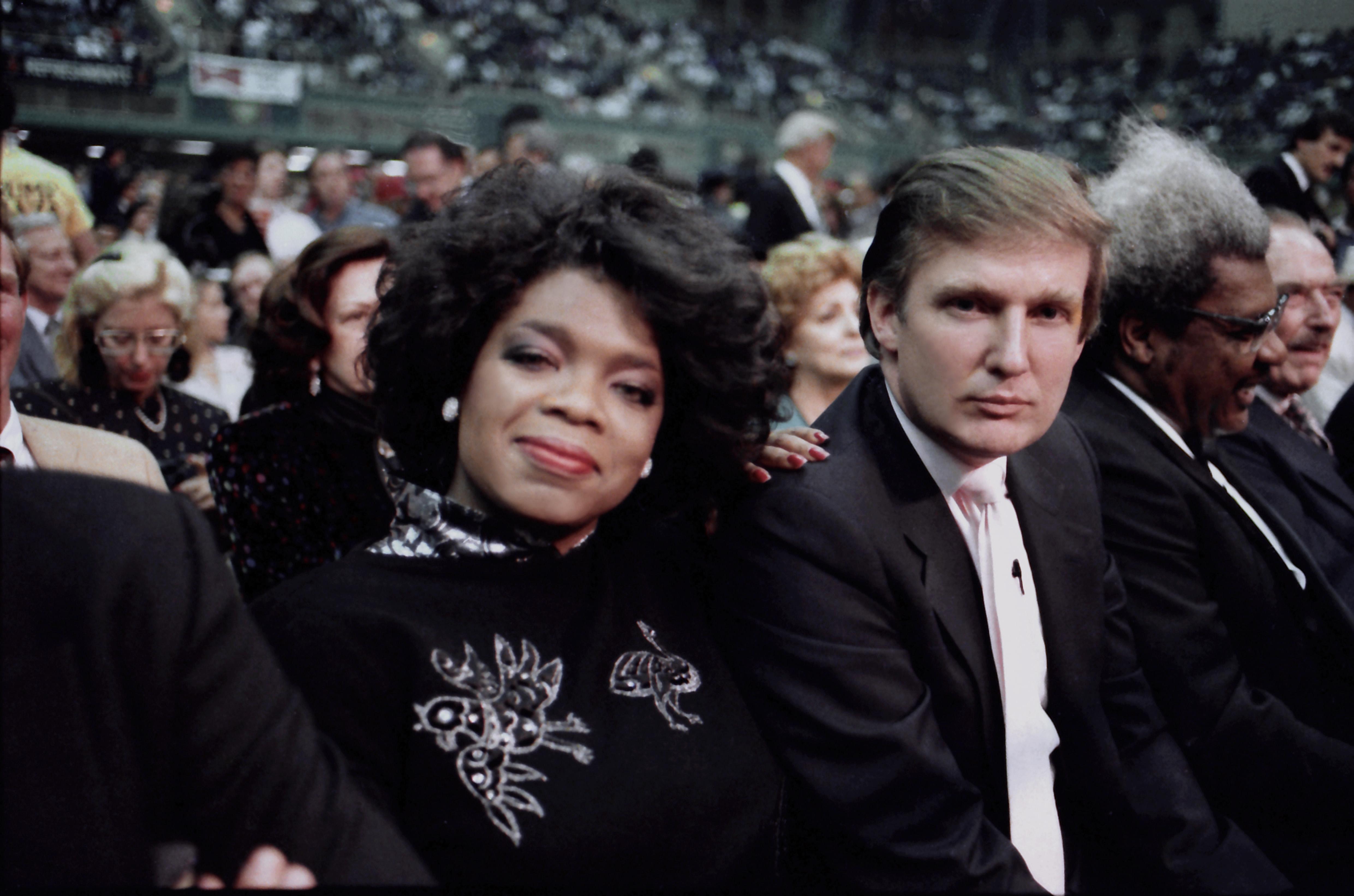 Donald Trump In Atlantic City