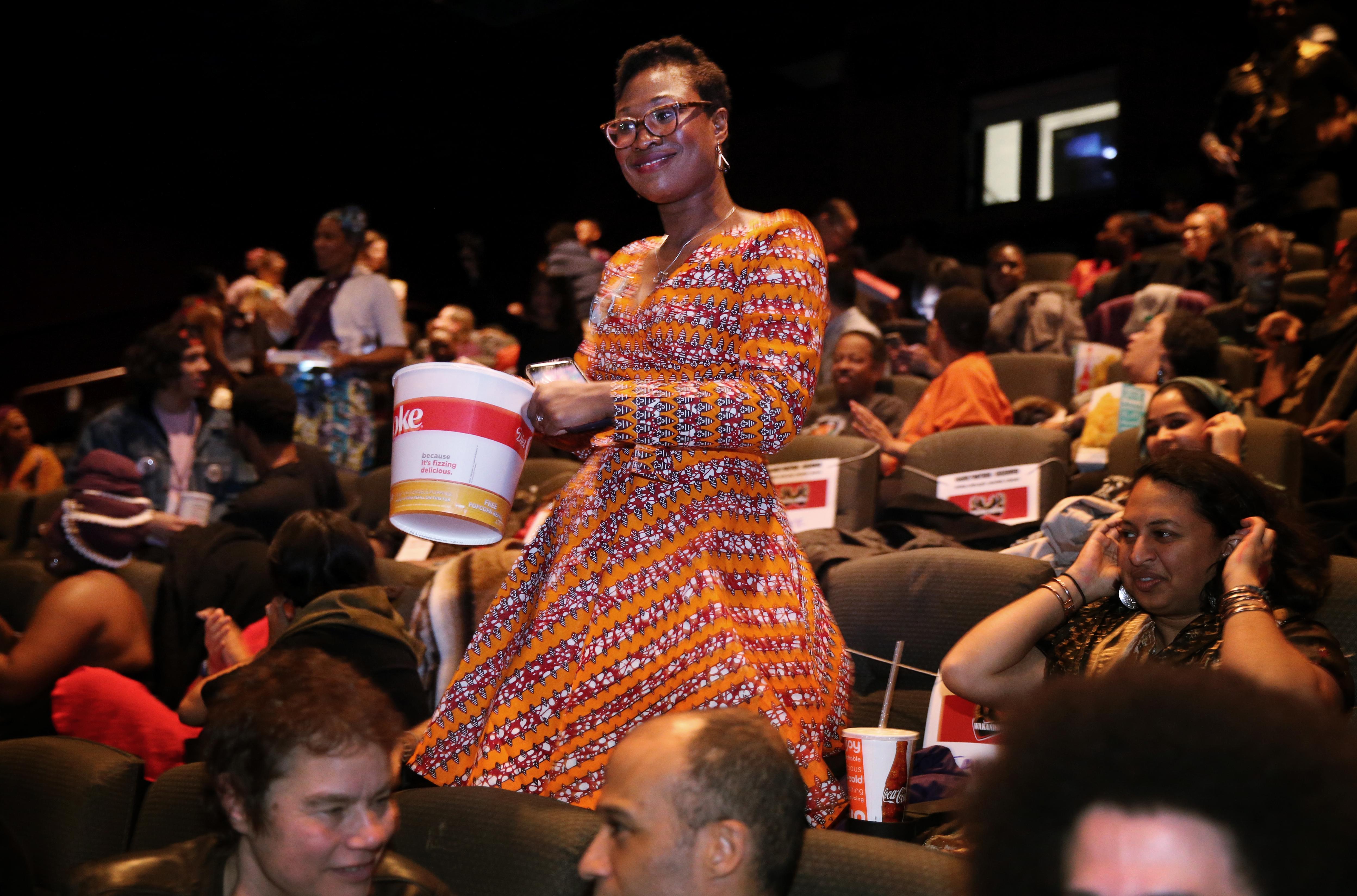 'Black Panther' Screening In Boston