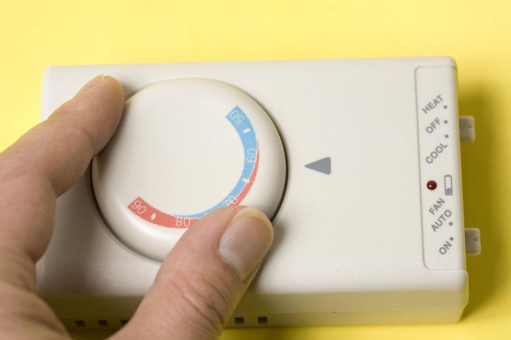 Set the temperature