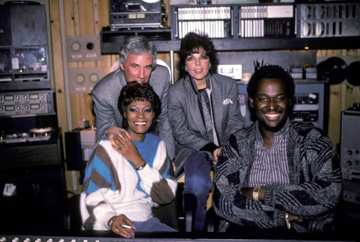 Dionne Warwick Burt Bacharach Carol Bayer Sager And Luther Vandross