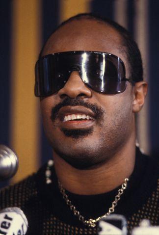 Portrait de Stevie Wonder