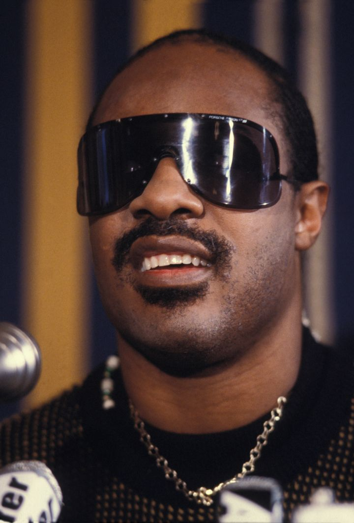 Portrait de Stevie Wonder