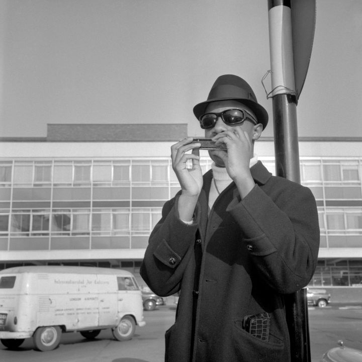 STEVIE WONDER, 14, IN LONDON