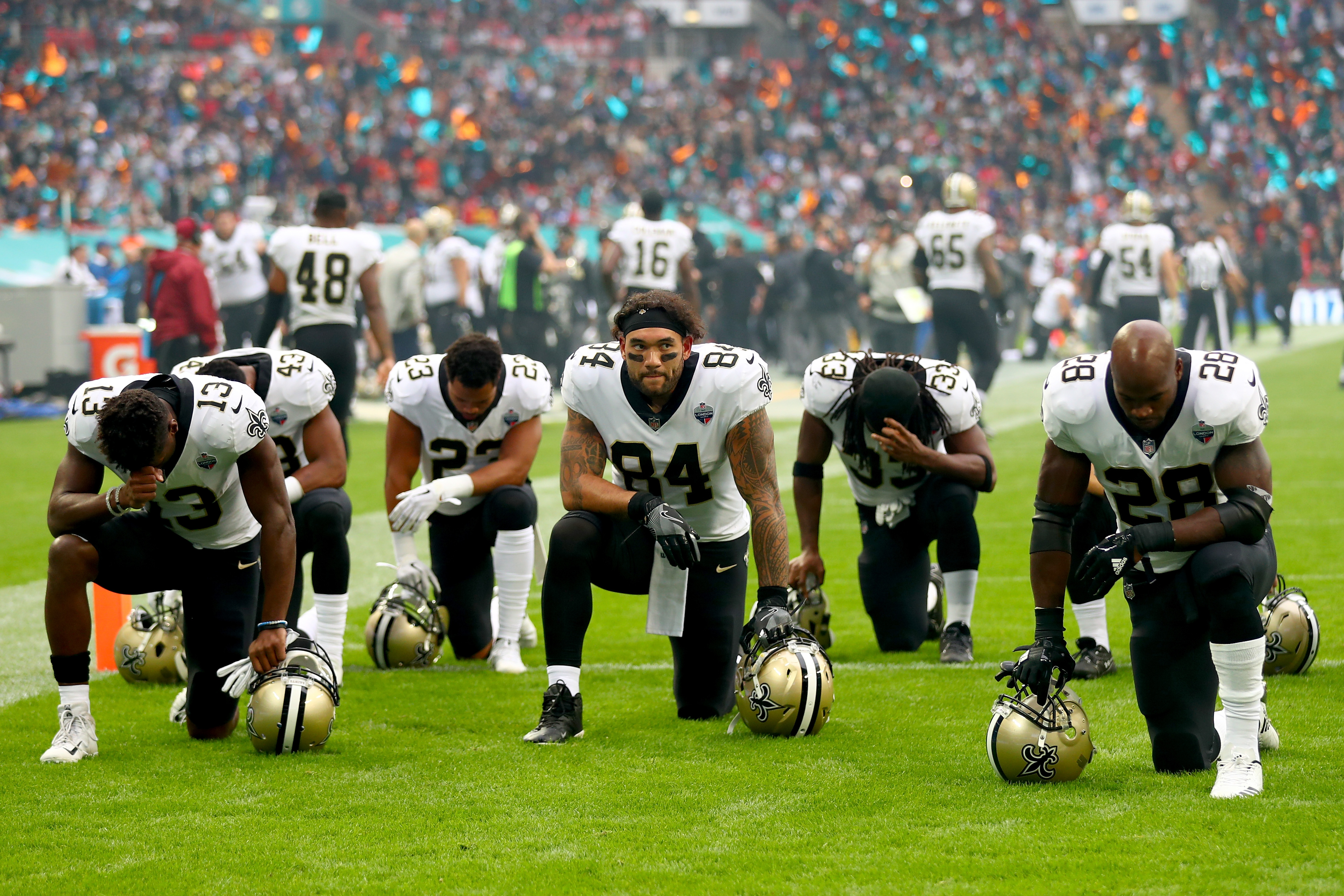 New Orleans Saints vMiami Dolphins