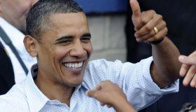President Obama Visits Milwaukee's Laborfest To Discuss U.S. Economy