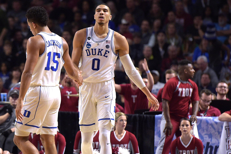 NCAA Basketball Tournament - First Round - Greenville - Troy v Duke