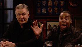 Matt Damon with musical guest Miley Cyrus hosts the 44th season episode 9 NBC's 'Saturday Night Live'