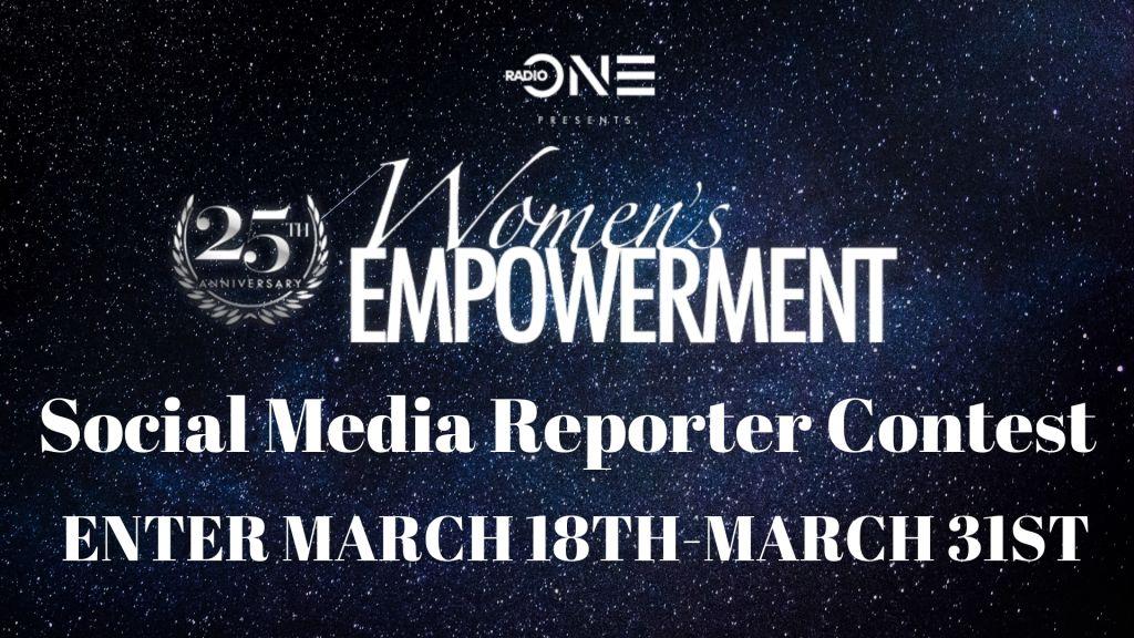 Women's Empowerment Social Media Reporter Graphic