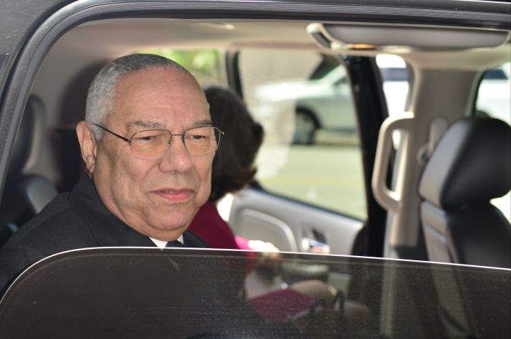 Colin Powell -Diagnosed with prostate cancer at the age of 40.