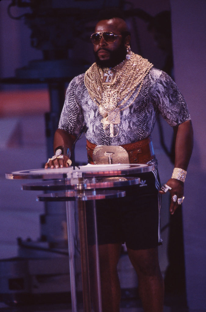 Mr. T- In 1995 was diagnosed with T-Cell Lymphoma