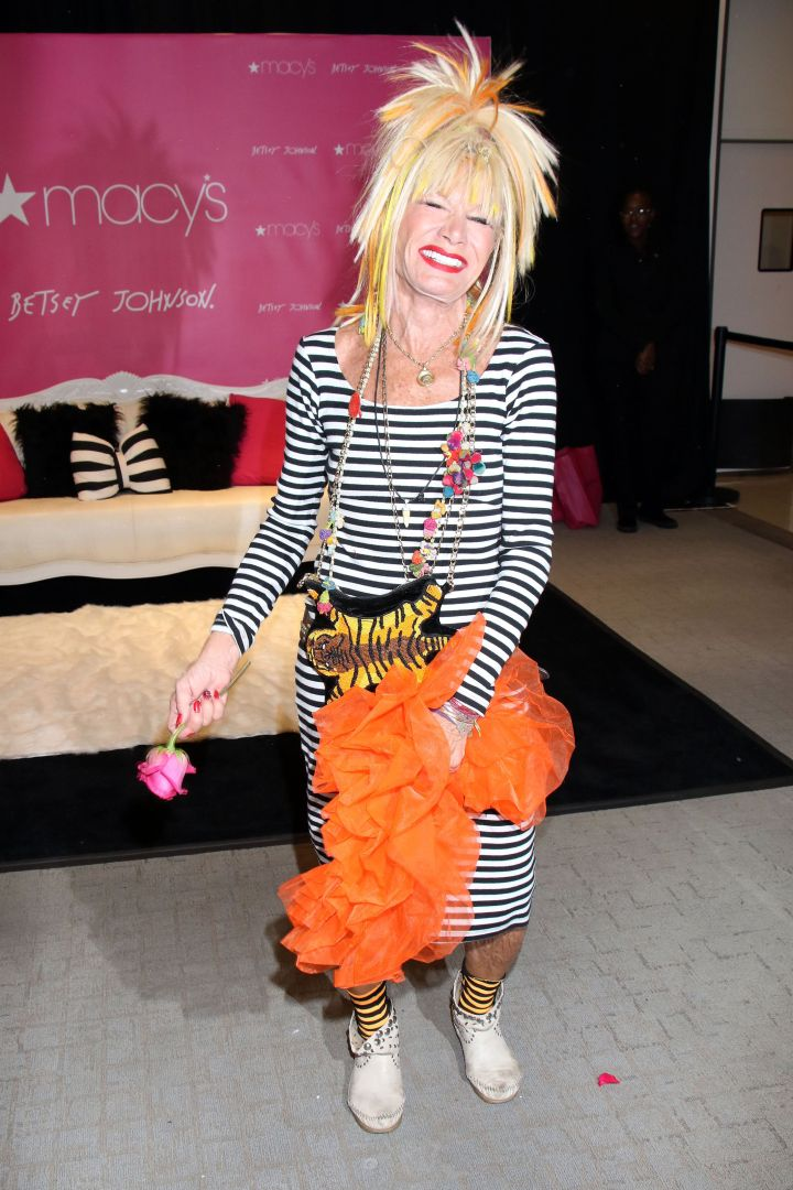 Betsey Johnson - Diagnosed with breast cancer in 1999