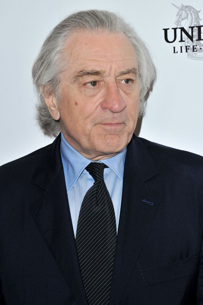 Robert Deniro - Diagnosed with early-stage prostate cancer in 2003