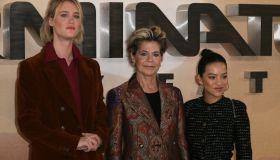 Terminator: Dark Fate Photocall held at Mandarin Oriental Hotel