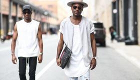 Street Style - NYFW: Men's July 2017 - Day 3