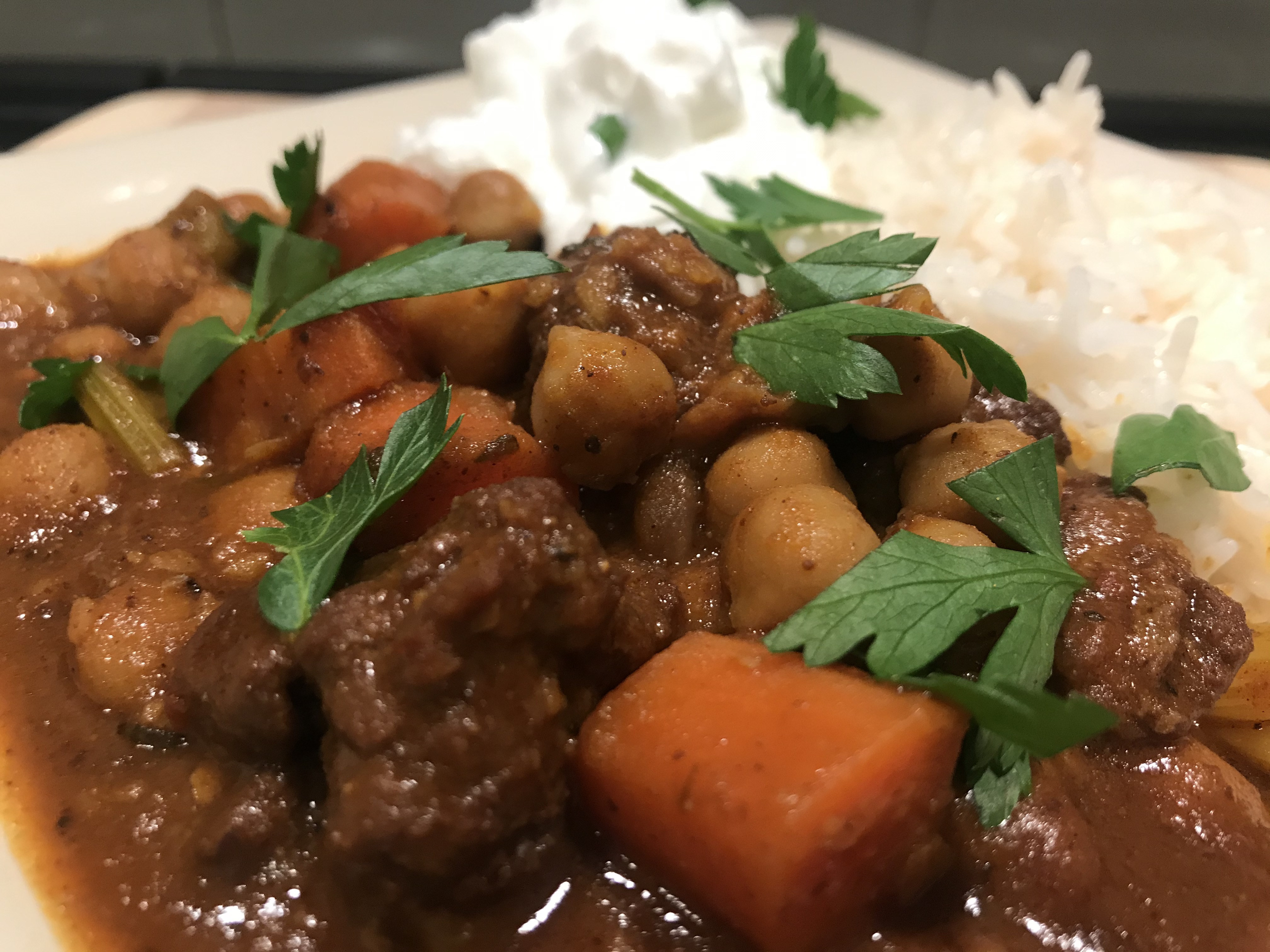 Lamb and Chickpea Curry