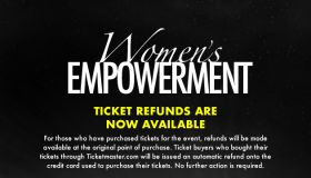 Women's Empowerment 2020 ticket refunds