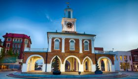 Market House in downtown Fayetteville, North Carolina