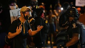 Protests continue over the death of George Floyd in Charlotte