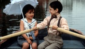 Brittany Ashton Holmes And Bug Hall In 'The Little Rascals'